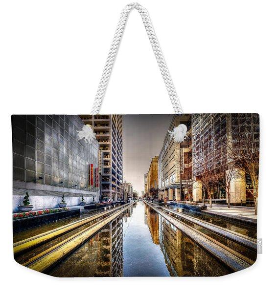 Main Street Square Weekender Tote Bag