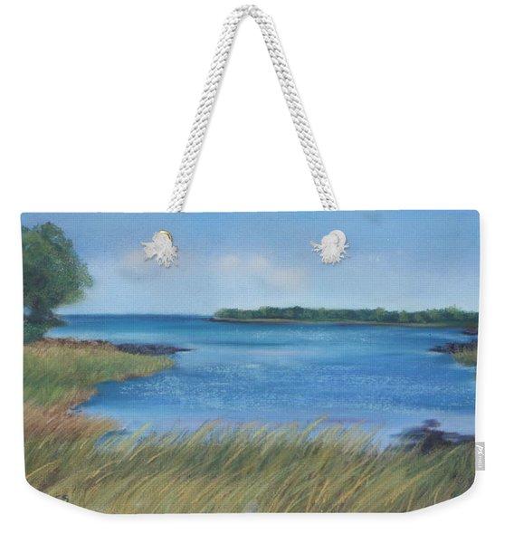 Maine Blues Weekender Tote Bag