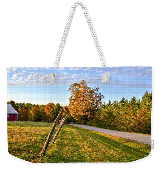 Maine Morning Weekender Tote Bag