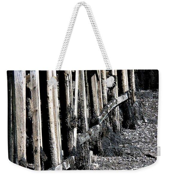 Maine Pier Weekender Tote Bag