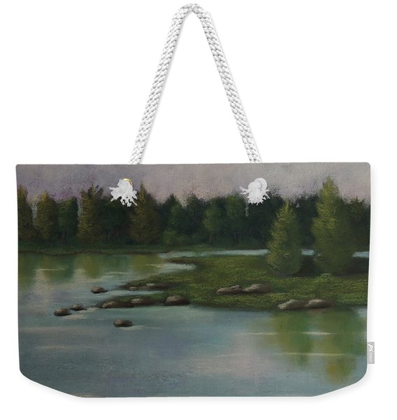 Maine Reflections Weekender Tote Bag