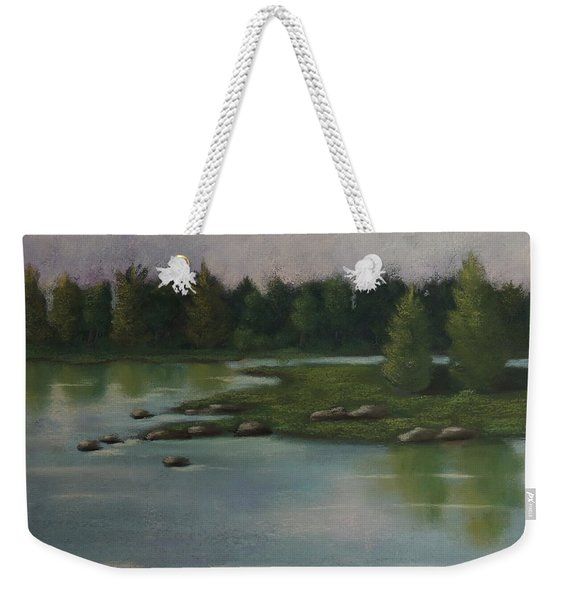 Maine Reflections Weekender Tote Bag