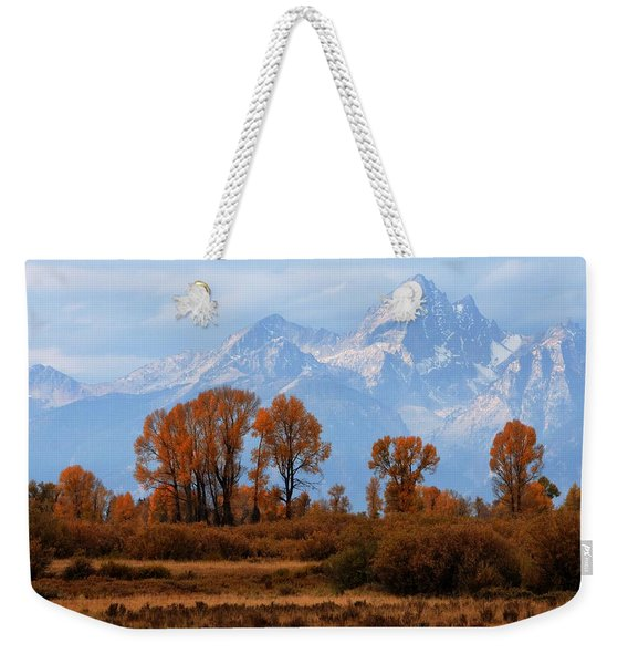 Majestic Backdrop Weekender Tote Bag