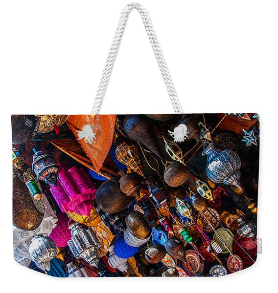 Marrakech Lanterns Weekender Tote Bag
