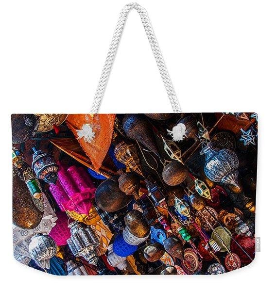 Marrakech Lanterns Weekender Tote Bag