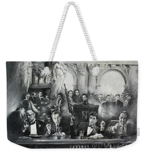 Make Way For The Bad Guys Weekender Tote Bag