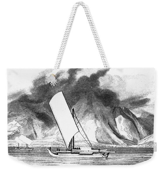 Malayan Sailing Ship, 1808 Weekender Tote Bag