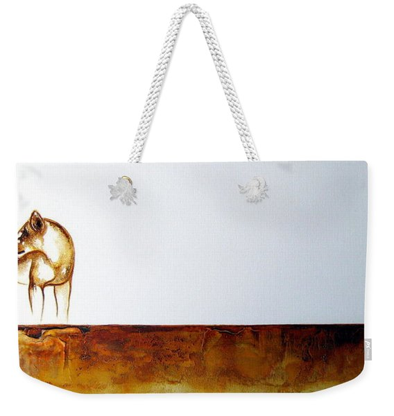 Lioness - Original Artwork Weekender Tote Bag