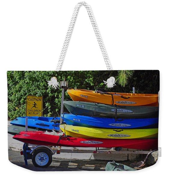 Malibu Kayaks Weekender Tote Bag