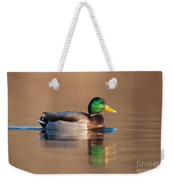 Mallard Weekender Tote Bag