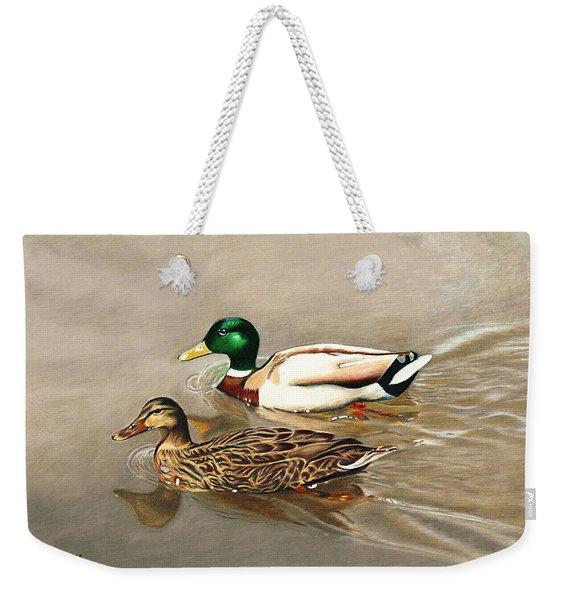 Mallards Weekender Tote Bag