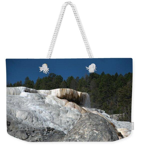 Mammoth Hot Springs 1 Weekender Tote Bag