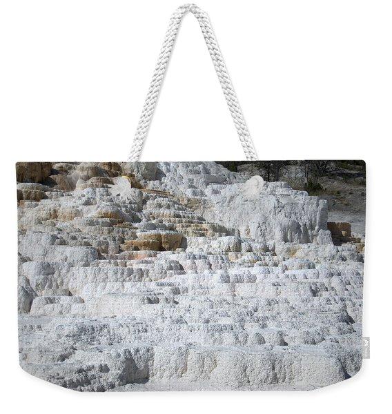 Mammoth Hotsprings 3 Weekender Tote Bag