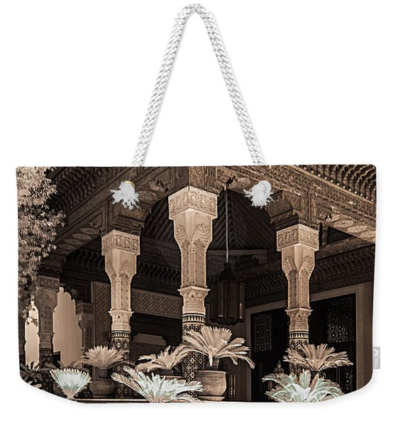 Mamounia Hotel In Marrakech Weekender Tote Bag