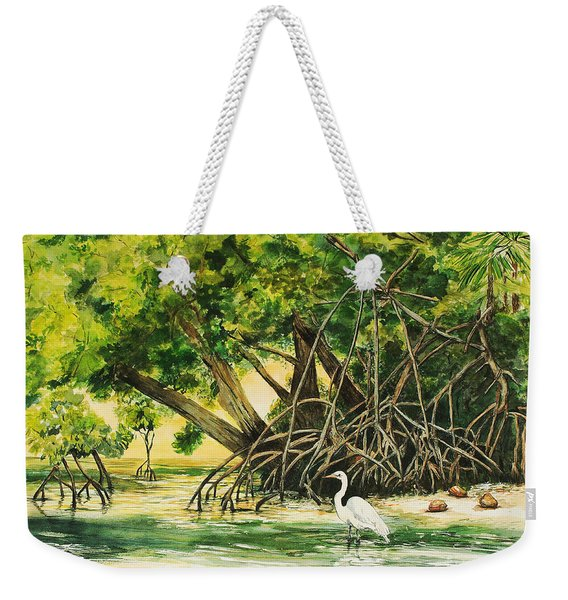 Mangrove Morning Weekender Tote Bag