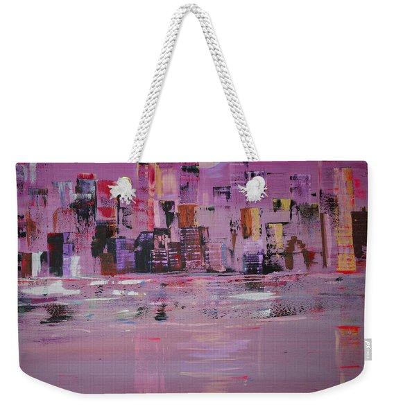 Manhattan Moonshine Weekender Tote Bag