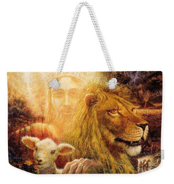 Manifold Majesty Weekender Tote Bag