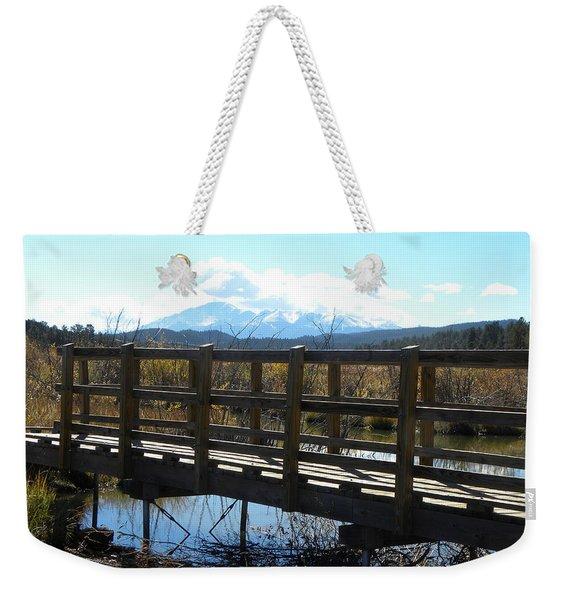 Lake Manitou Sp Woodland Park Co Weekender Tote Bag
