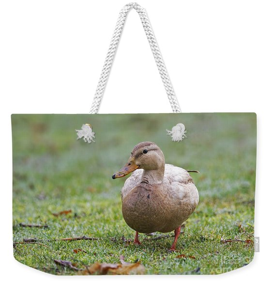 Manky Mallard Weekender Tote Bag