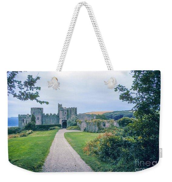 Manorbier Castle  Weekender Tote Bag