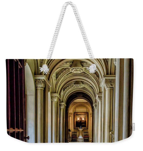 Mansion Hallway Weekender Tote Bag