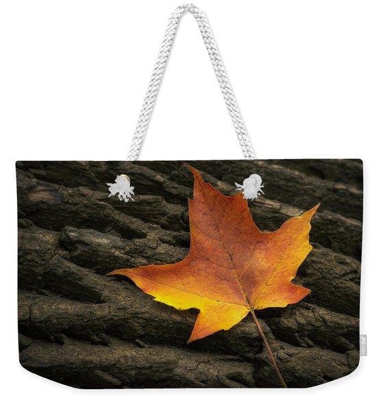 Maple Leaf Weekender Tote Bag