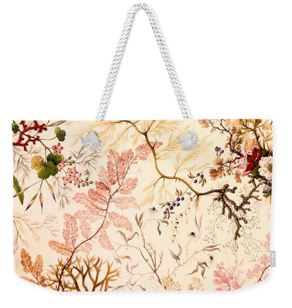 Marble End Paper  Weekender Tote Bag