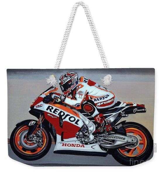 Marc Marquez Weekender Tote Bag