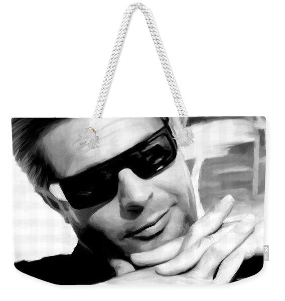 Marcello Mastroianni Portrait Weekender Tote Bag