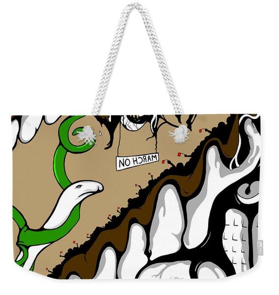 March On Weekender Tote Bag