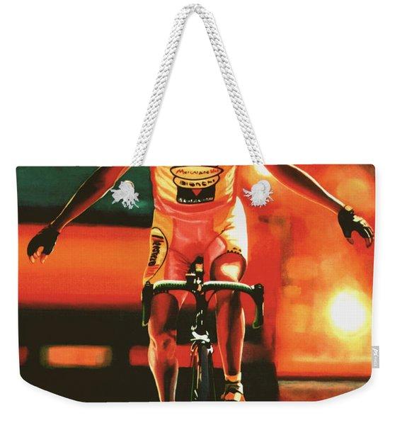 Marco Pantani Weekender Tote Bag