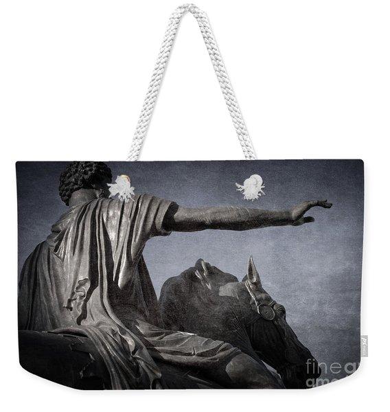Marcus Aurelius - Rome  Weekender Tote Bag