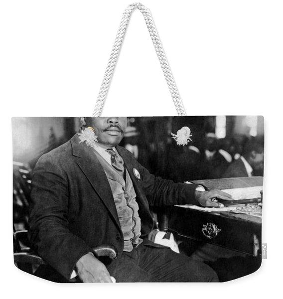 Marcus Garvey At His Desk Weekender Tote Bag
