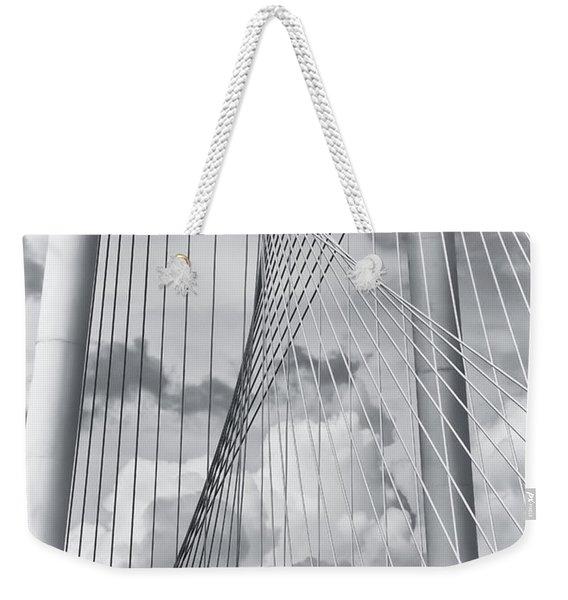 Margaret Hunt Hill Bridge Weekender Tote Bag