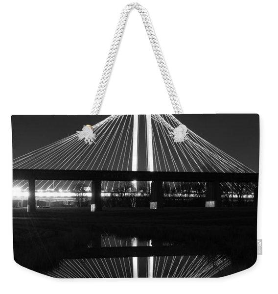 Margaret Hunt Hill Bridge Reflection Weekender Tote Bag