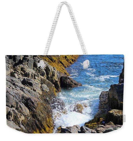 Marginal Way Crevice Weekender Tote Bag