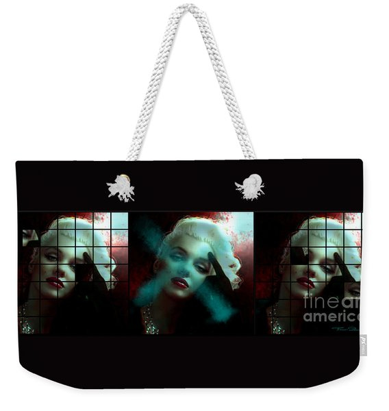 Marilyn 128 Tryp  Weekender Tote Bag