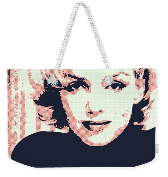 Marilyn M Weekender Tote Bag