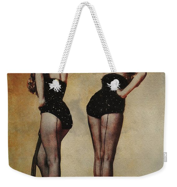 Marilyn Monroe And Jane Russell Weekender Tote Bag