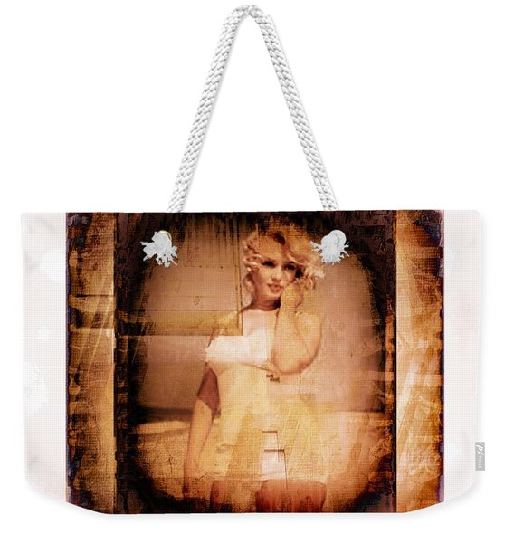 Marilyn Monroe Film Weekender Tote Bag