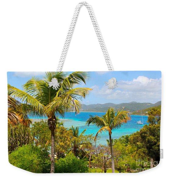 Marina Cay Hill Weekender Tote Bag