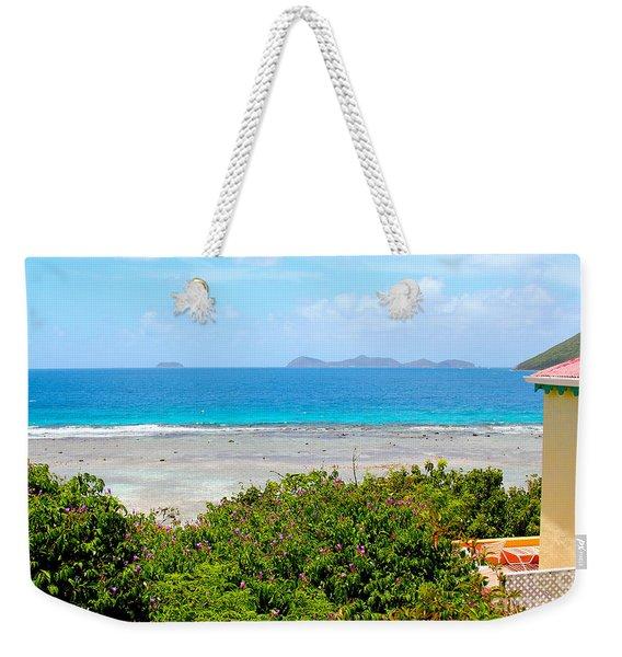 Marina Cay Villas Weekender Tote Bag