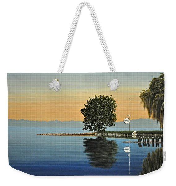 Marina Morning Weekender Tote Bag