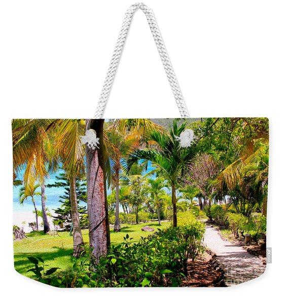 Marina Walkway Weekender Tote Bag