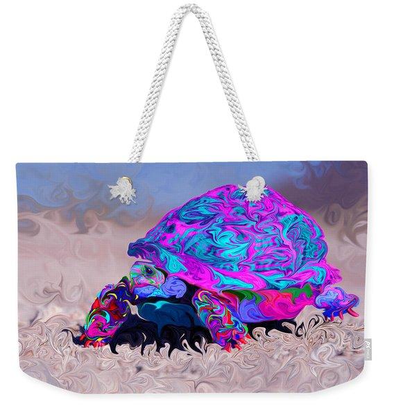 Marine Corporal's Turtle In Peace Paint V2 Weekender Tote Bag