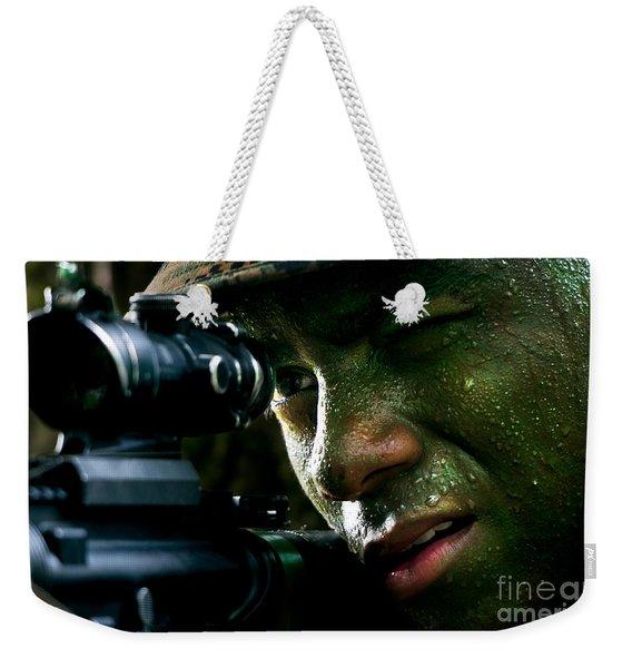 Marines Weekender Tote Bag