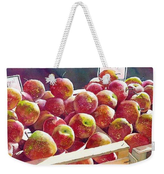 Market Apples Weekender Tote Bag