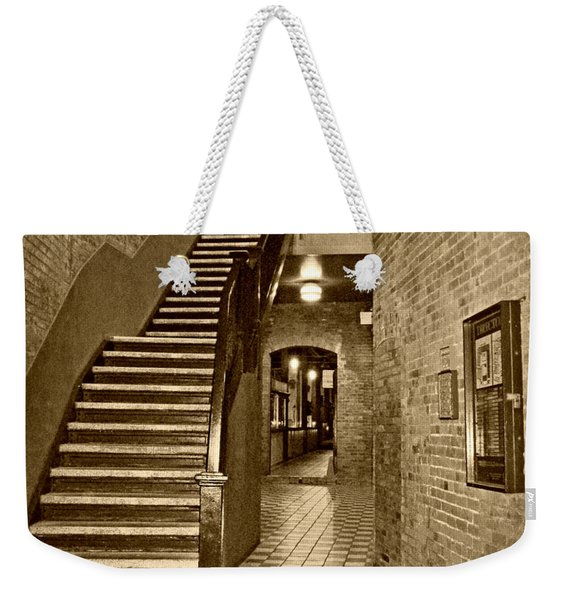 Market Square - Sepia 2 Weekender Tote Bag