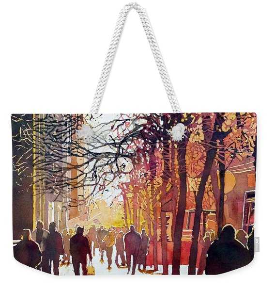 Market Street Weekender Tote Bag