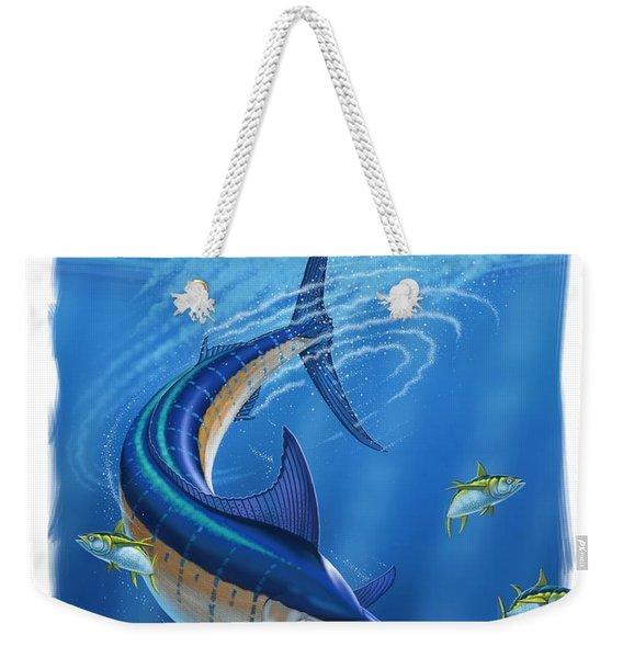 Marlin Weekender Tote Bag